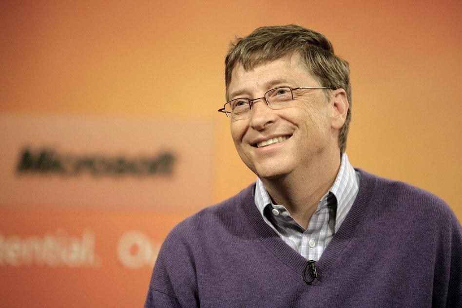 Интервю с Бил Гейтс
