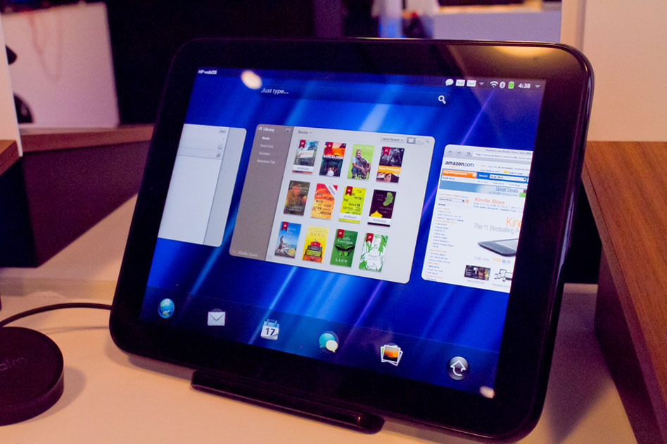 HP TouchPad обзор на устройството