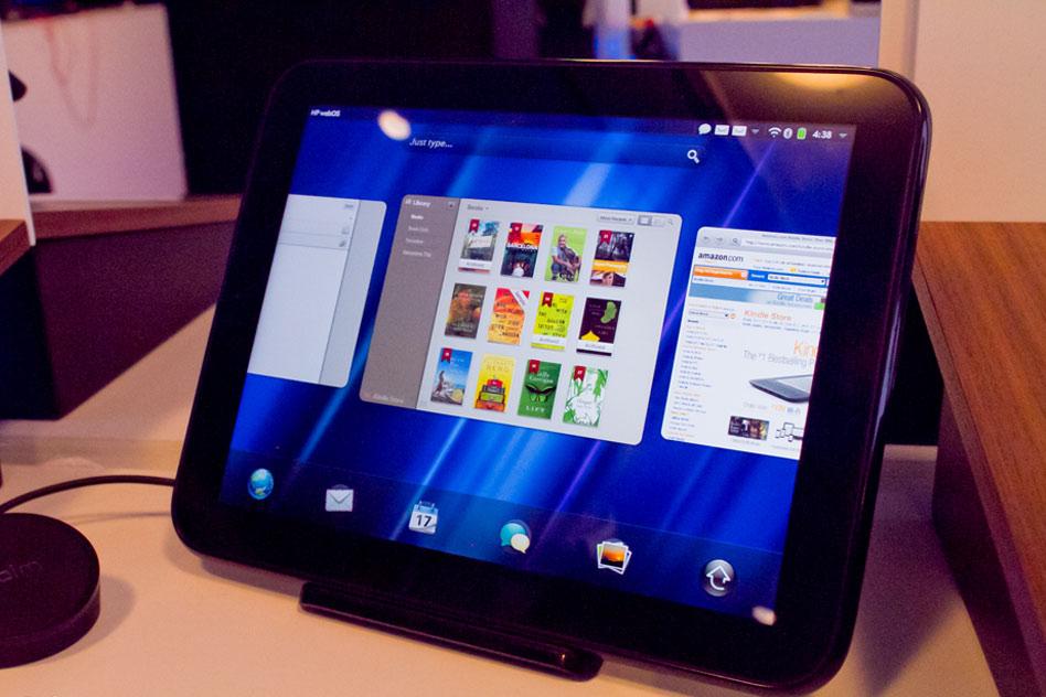 HP TouchPad обзор на устройството