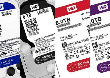 цвят на WD диск и значението на цвета